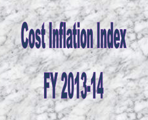 Cost Inflation Index FY 2013-14
