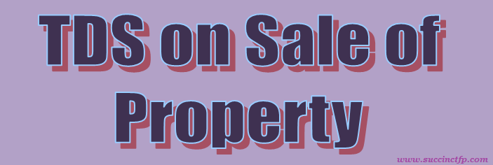 Sale Of Immovable Property Tds Rate