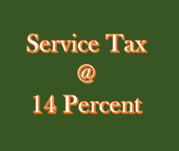 After March 2015, No 14% Service Tax until notified in Official Gazette